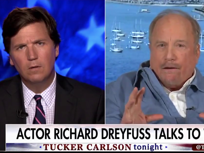 "Richard Dreyfuss On Free Speech At College: ""Political Correctness Taken To A Nightmarish Point Of View"""