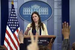 How Sarah Sanders Humiliated the Press