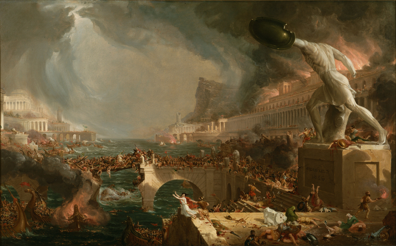 Reviewing The Fate of Rome