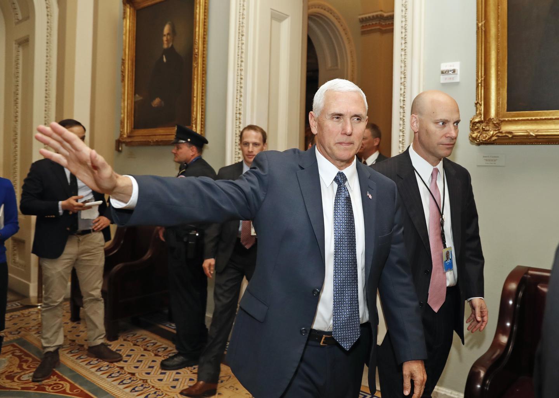 Pence Balances Multiple Roles for Trump, GOP