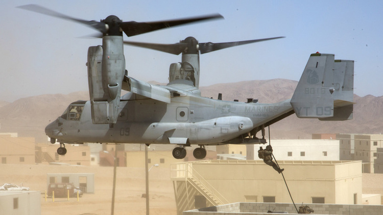V-22 Fleet Wide Readiness Rate Hovers At 52%