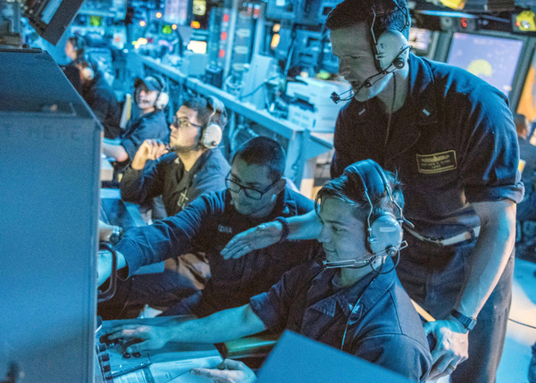 Navy Revs Up Info Warfare to Stop Enemy Missiles, Weapons