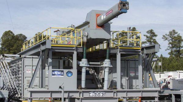 U.S. Navy's Railgun Entering New Testing Phases
