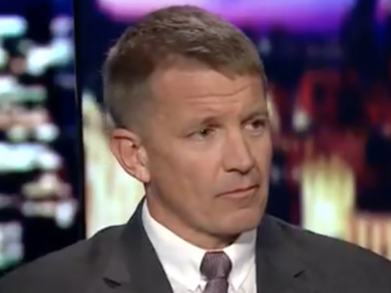 Erik Prince on Syria: America Needs To Call B.S. On Failed Generals; We Have No More Pattons Or Grants