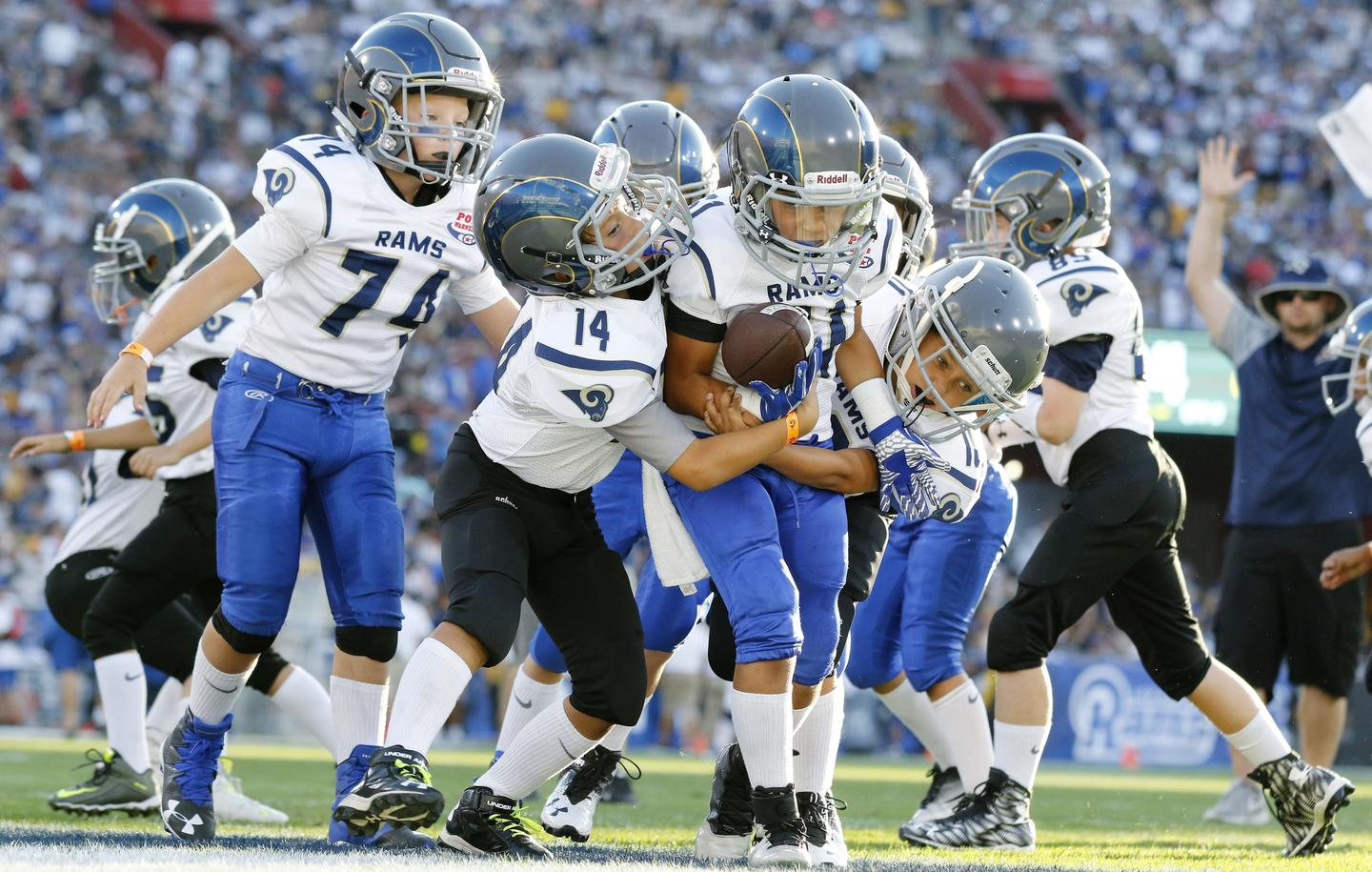 should children under 14 play contact sports A maryland lawmaker is drafting a bill that would ban tackling in football for children under the age of 14.