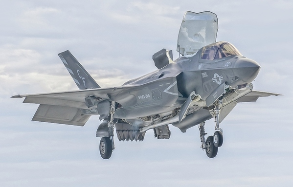 Marines Folding F-35B into Pacific Island-Hopping Concept