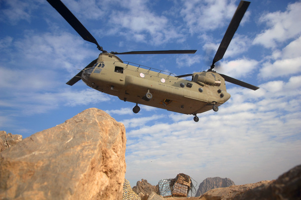 Boeing to Test CH-47 With Same Engines as CH-53K