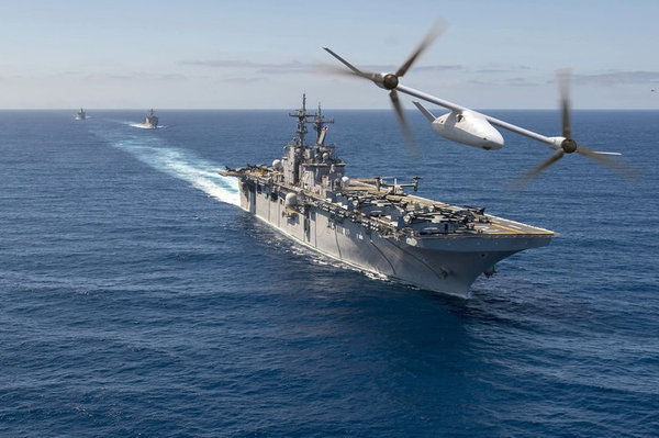 This Drone Could Help Marines Protect Navy Warships