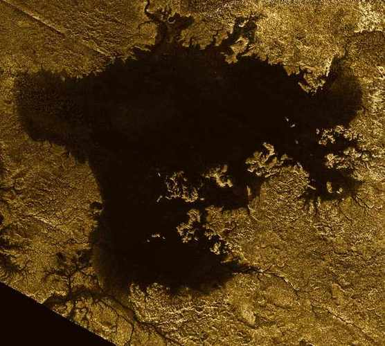 Titan's Lakes May Have Formed From Explosions