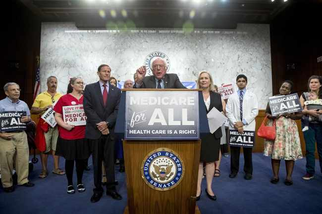 No Public Option — We Want Medicare for All