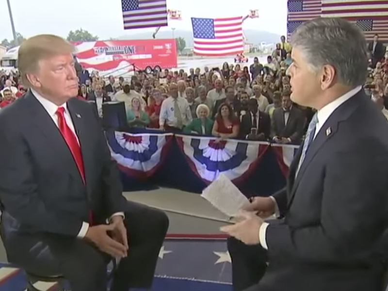 Full Video: Sean Hannity Interviews Trump On Tax Plan, North Korea, Iran, Russia, Minorities & Police