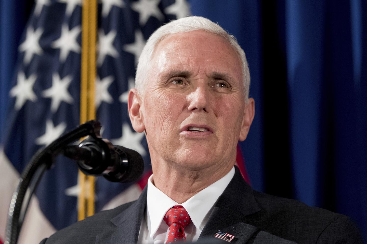 In a Political World Gone Topsy-Turvy, Mike Pence Is the Party Leader