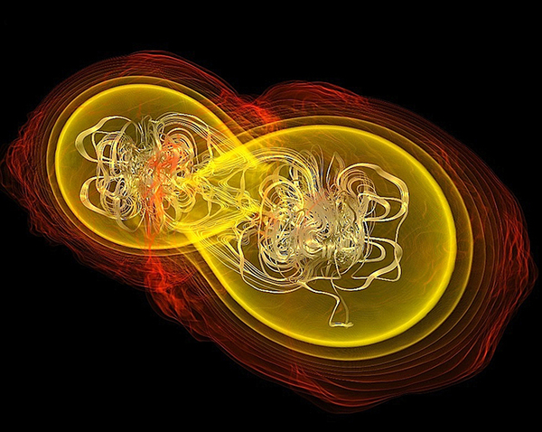 Neutron Star Collisions Could Reveal Quark Matter