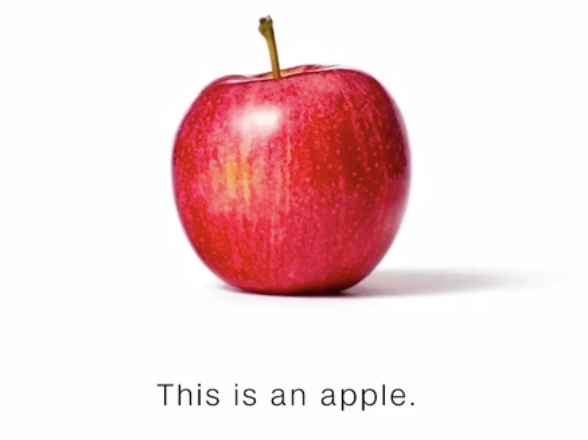 Image result for cnn this is an apple