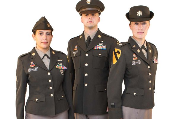 Army Finalizing Pinks And Greens Uniform For All Soldiers