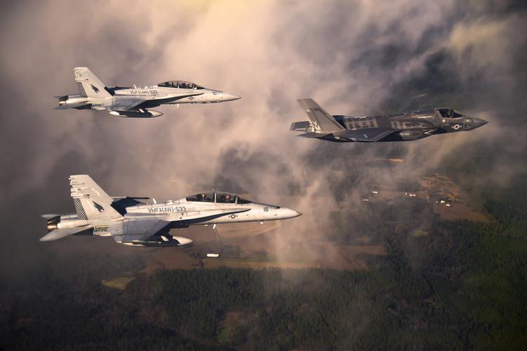 Advanced Super Hornet, F-35 Face Stealth Dilemma