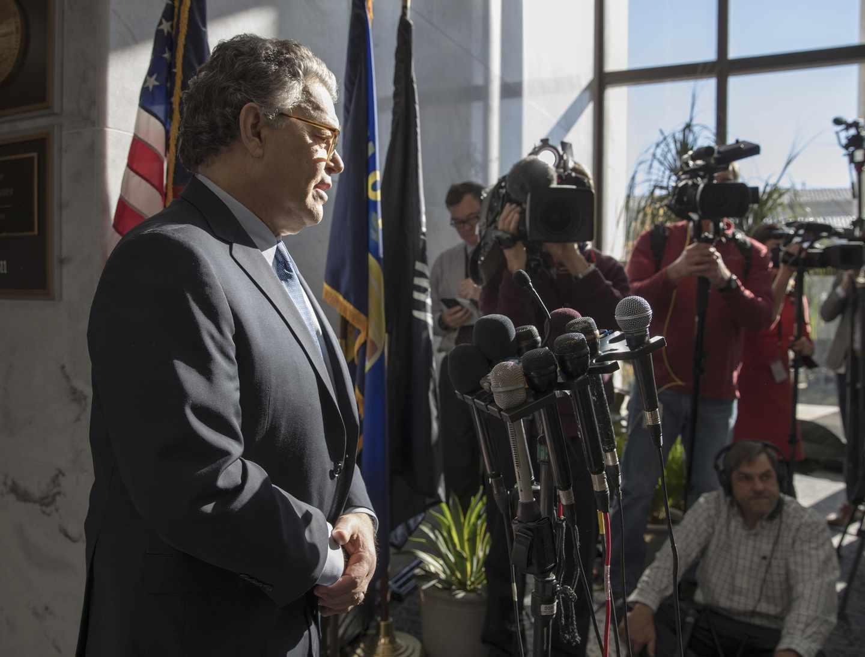 Franken Departure Could Pressure GOP on Moore's Fate