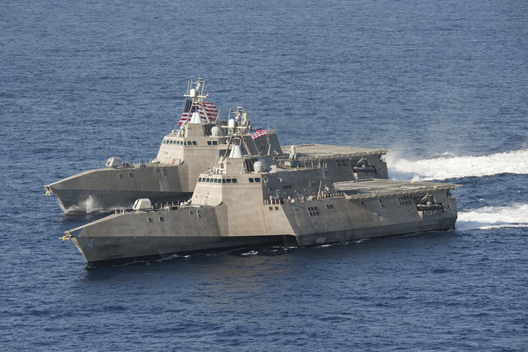 The Pentagon Is Poised to Send the LCS to Thwart Narcos