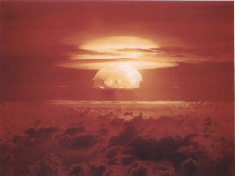 The Fear That a Nuclear Bomb Could Ignite the Atmosphere