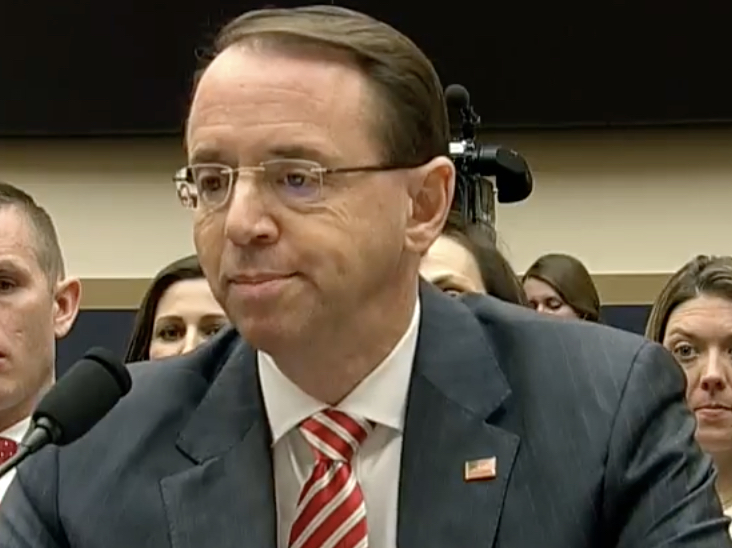 Us Probe Into Georgia Special Ed >> Rosenstein No Allegation In This Indictment That Any