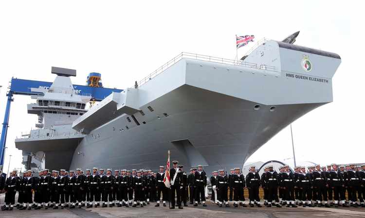 New Carriers Give Royal Navy a Renewed Sense of Purpose