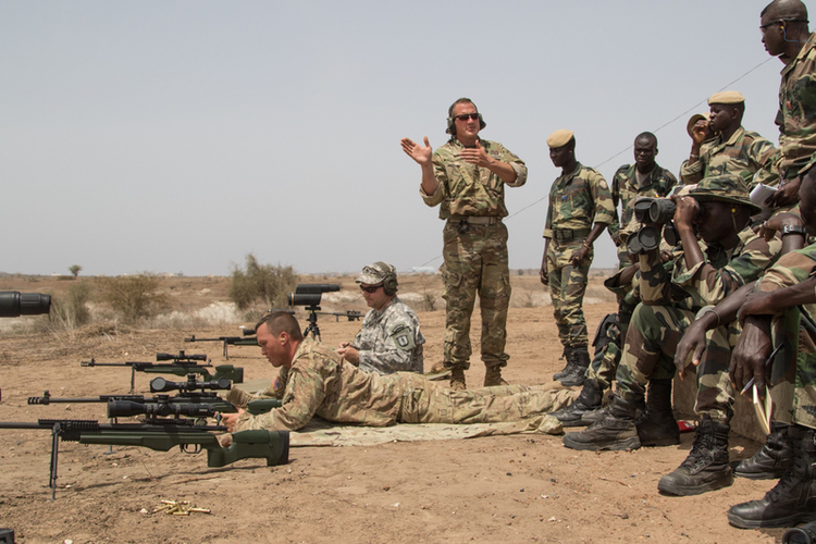 In West Africa, U.S. Military Struggles for Scarce Resources