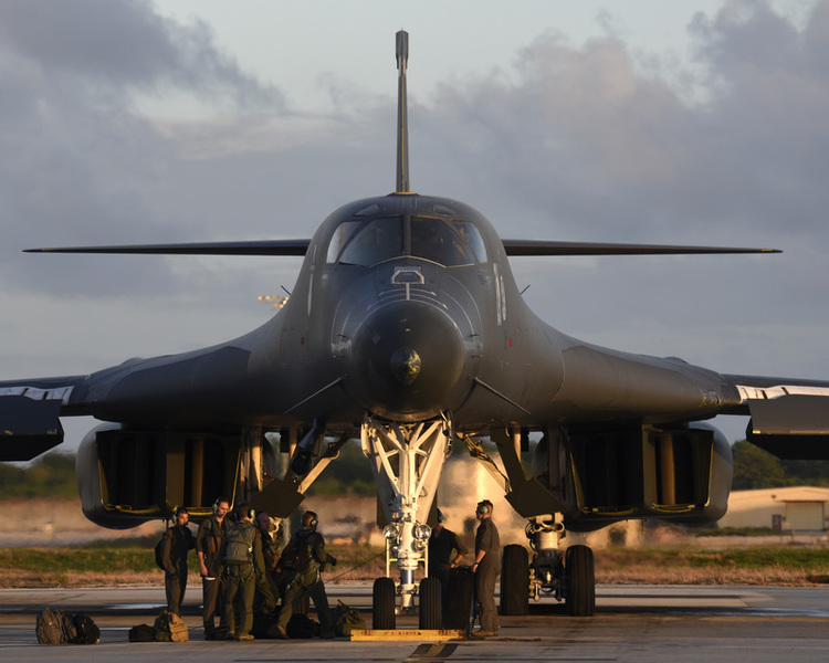 First B-1Bs Resume Flying After Prolonged Grounding
