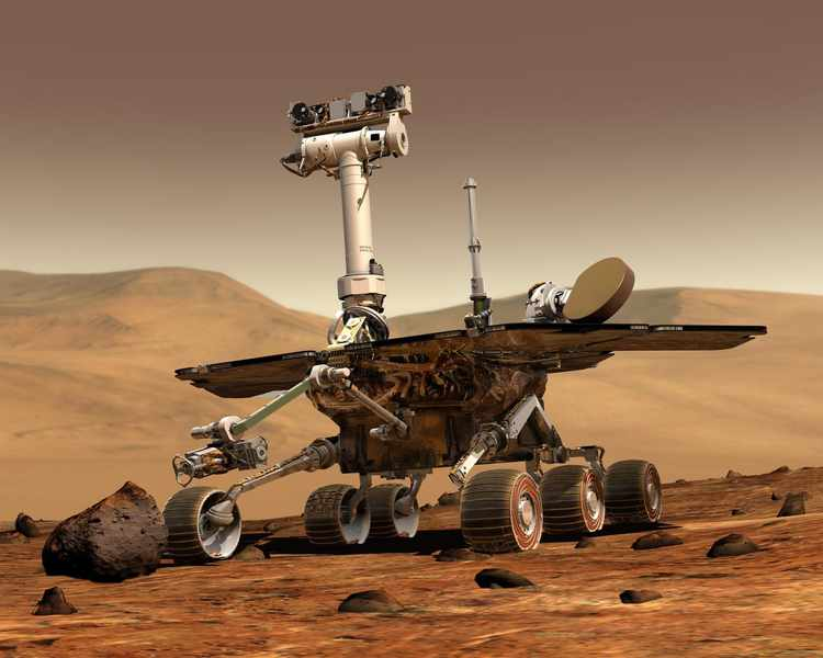 Massive Mars Dust Storm Endangers Opportunity Rover