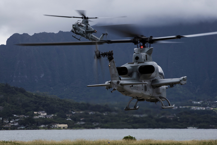 Marine Corps to Get 25 New AH-1Z Viper Attack Helicopters