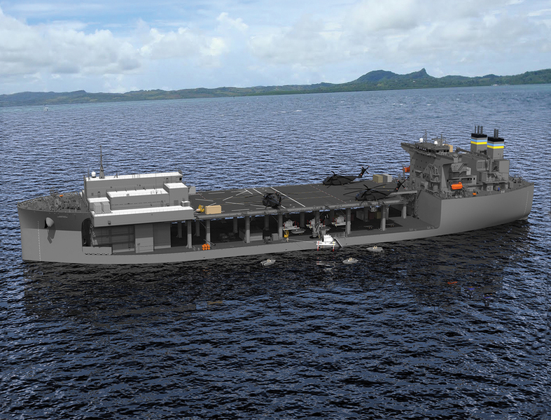 The Navy S New Ship Is A Floating Swiss Army Knife