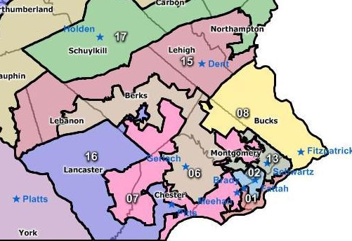 Do Democrats Stand to Gain From Redrawn Pa. Maps ...