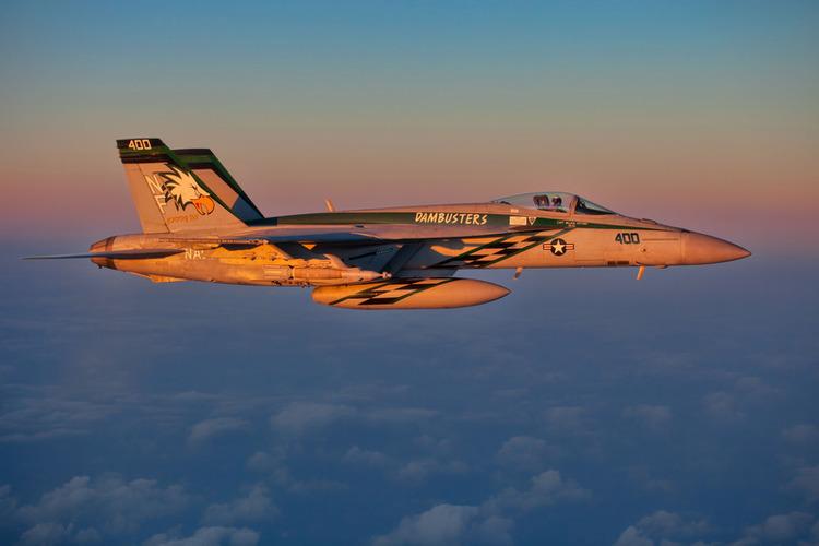 Navy F/A-18E Super Hornet Crashes Near China Lake