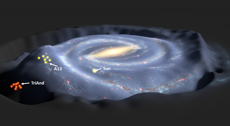 There Might Be Two Black Holes at the Center of the Milky Way