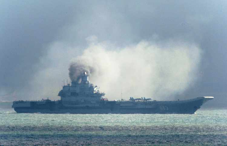Russia May Scrap Its Only Aircraft Carrier