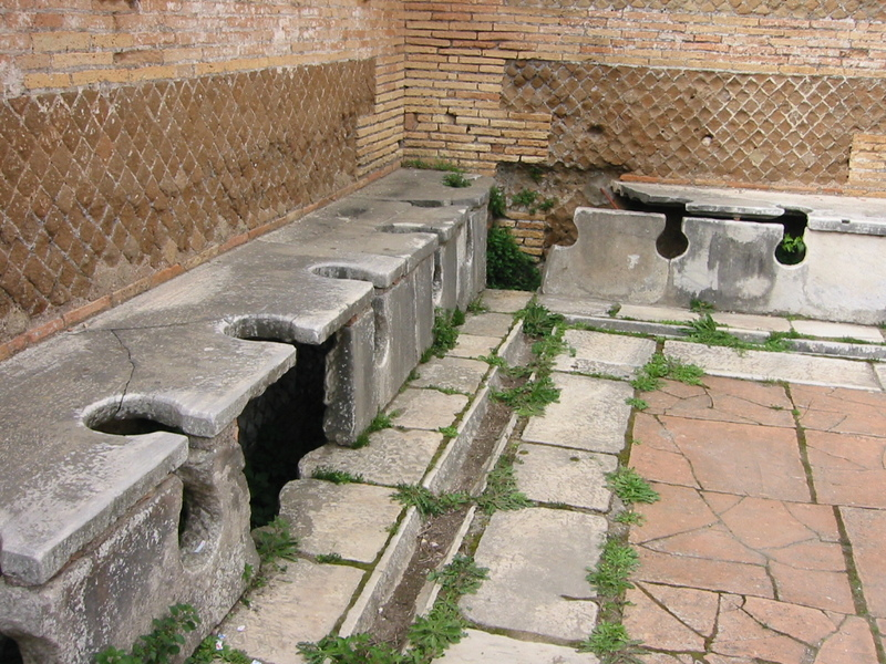What Did Ancient Romans Do Without Toilet Paper?