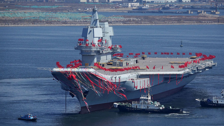 Details of New Chinese Aircraft Carrier Revealed