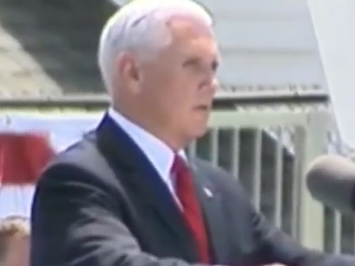 Watch Live: VP Mike Pence Speaks At Coast Guard Academy