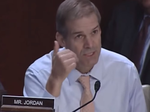 Rep  Jim Jordan Questions I G  Horowitz: Did Rosenstein Try