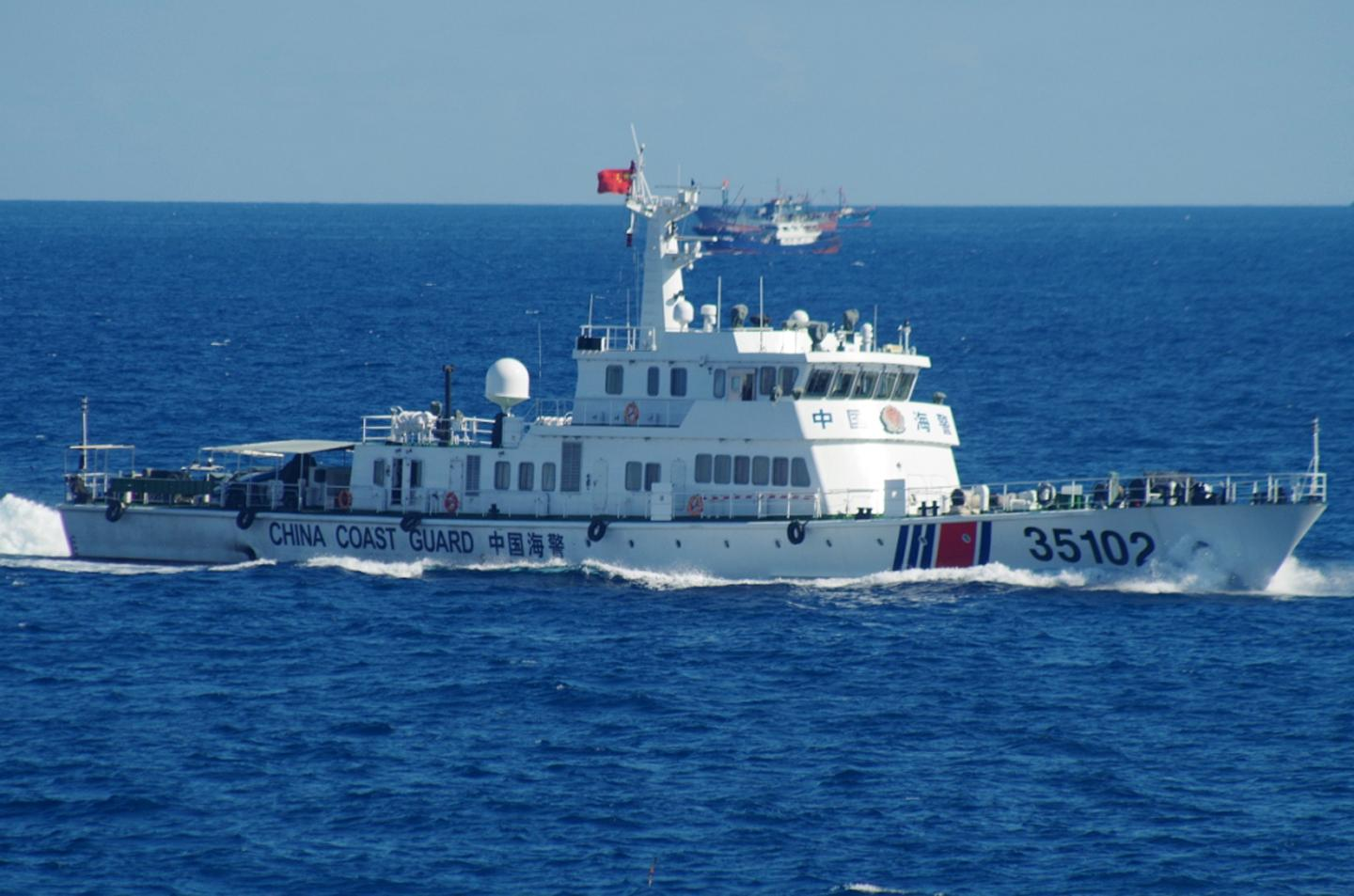 China's Military Activities in the East China Sea