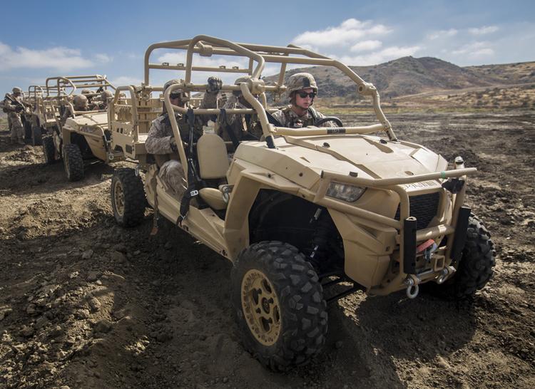 Marines Still Using Polaris ATVs Despite Civilian Recalls