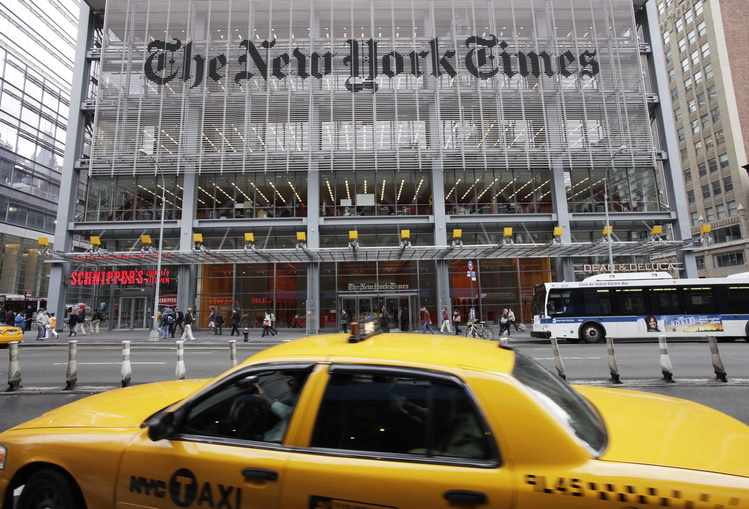 New Goal for NYT: 'Reframe' History & Target Trump, Too