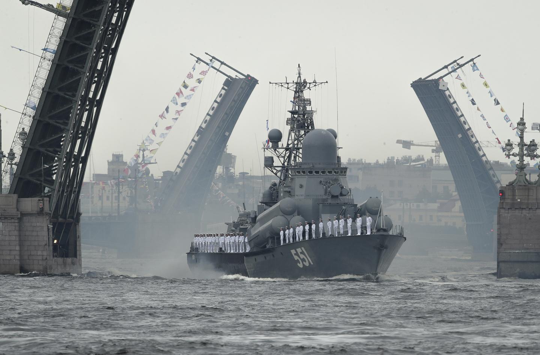 Russian Navy Preparing to Take on U.S.