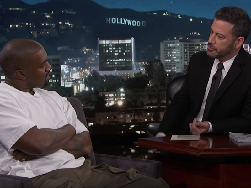 Full Kimmel Interview: Kanye West Says \
