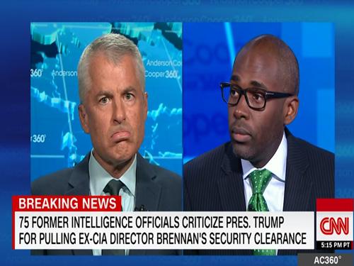 CNN's Paris Dennard Enrages Fmr CIA/FBI Official Phil Mudd