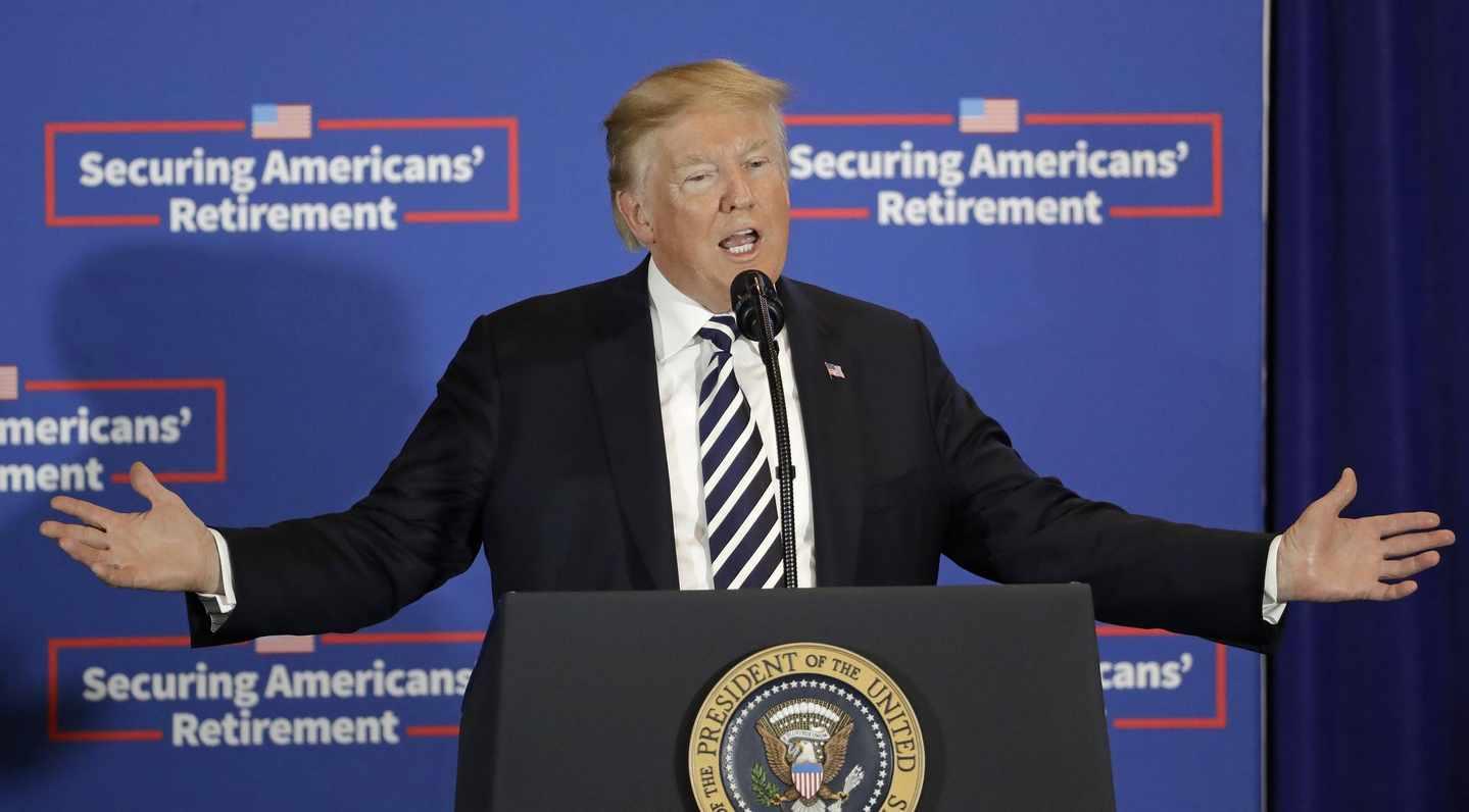 Trump's Words Don't Buy Dinner