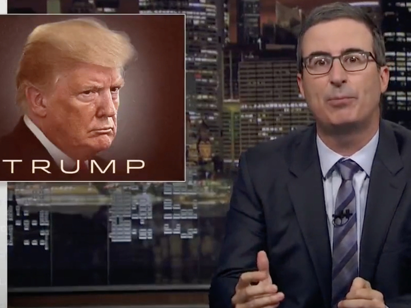 John Oliver: Trump Is A Disaster And We're All Going To Die
