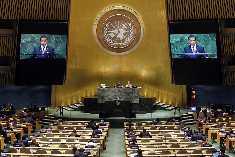 Watch Live Trump Bolsonaro Sisi Erdogan Macron Johnson And More Speak At Un General Assembly Video Realclearpolitics