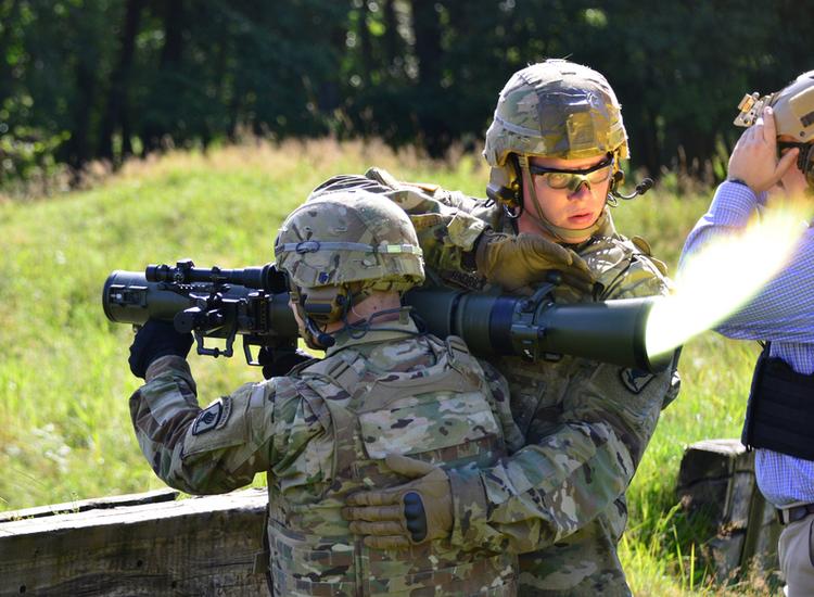 New Long-Range, Guided 84mm Munition for Carl-Gustaf