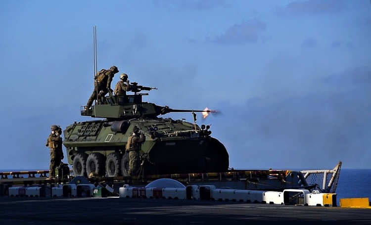 Marines Plan to Replace LAV With Modern Armored Recon Vehicle