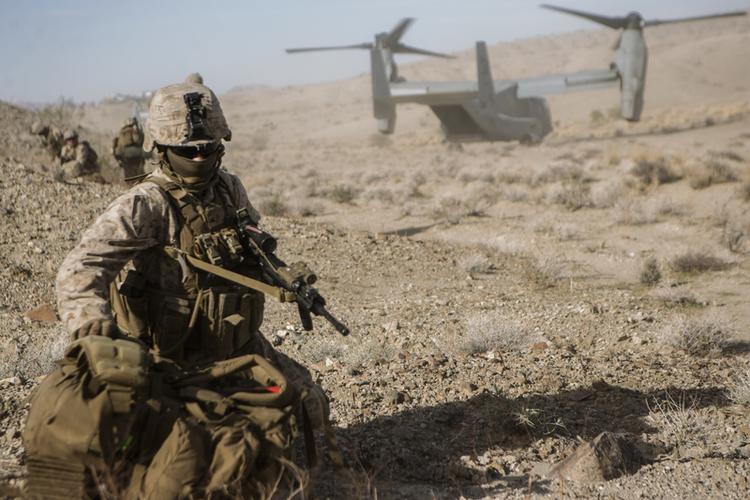 U.S. Marines to Battle Royal Marines